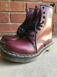 Dr Martens Cherry Red Size 5