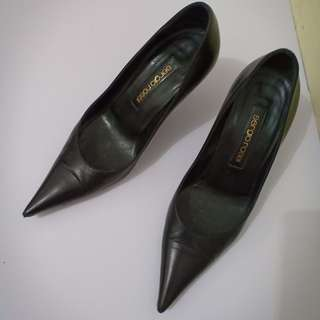 Black Pointed Sergio Rossi Pumps