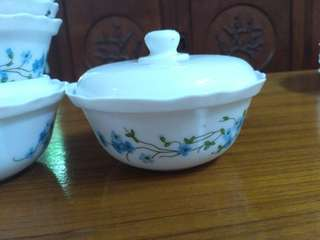 Arcopal Sugar Bowls