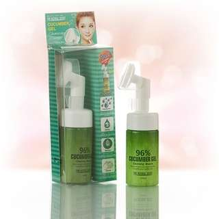 Foam Pembersih Wajah Cupida Cupido Cucumber Gel Cleansing Mousse 100ml