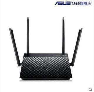 ASUS RT-AC1200 high-speed fiber dual-band Gigabit wireless router home wall wiFi smart 1200M