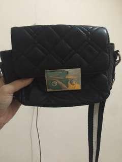 mango black sling bag