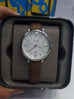 Fossil watch brown nego