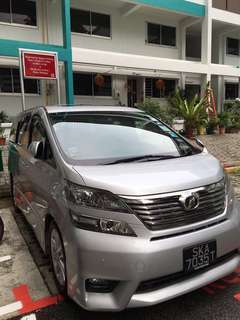 Vellfire and altis for grab