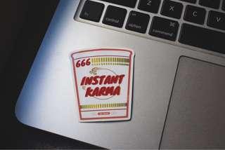 Instant Noodle Stickers!!