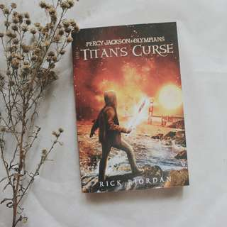 Percy Jackson 3: The Titan's Curse by Ricky Riordan (Bahasa/Novel Terjemahan)