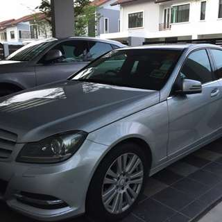 Mercedes-Benz C200. Very well maintained. Price negotiable!