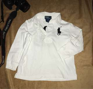 Authentic POLO by ralph lauren kids longsleeves