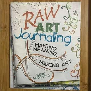 Paperback - Raw Art Journaling