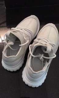 Adidas tubular radial white putih