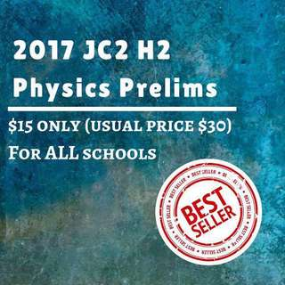 🚚 H2 Physics 2017 JC2 // A Level // Tertiary Education Exam Papers, test papers, past year papers #CarouPay