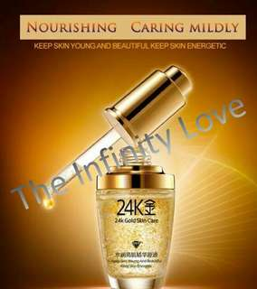 24K GOLD SKIN CARE SERUM