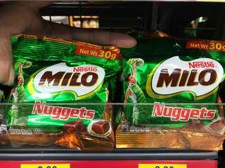 Milo Nuggets 🍫雀巢美祿脆脆朱古力粒 ≈  🇲🇾馬來西亞獨有零食🇲🇾