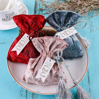 Drawstring Pouch/ Berkat/ Wedding Gifts