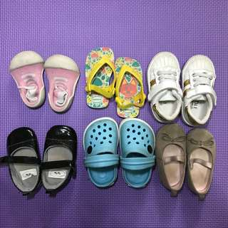 Baby Shoes Bundle 6 pcs