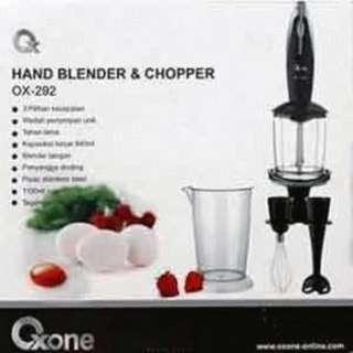 Blender tangan membuat bubur anak oxone 292 dan ox141