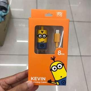Minions Iphone叉電線(韓國正版代購)