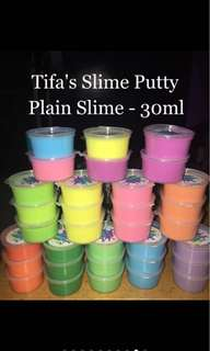 Slime 30ml (plain or glittered)