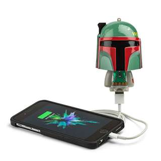 Star Wars Mighty Minis Boba Fett Phone charger