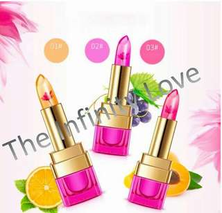 BIOAQUA MAGIC TEMPERATURE JELLY FLOWER LIPSTICK