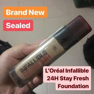 BN L'Oréal Infallible 24H Stay Fresh Foundation in 235 Honey