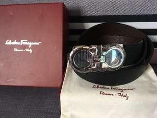 Salvatore ferregamo belt Authentic grade quality