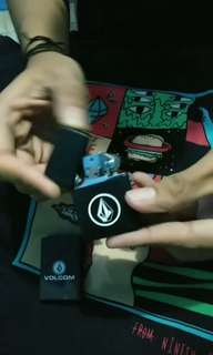 Volcom Matches / Cigarette Lighter Full Black