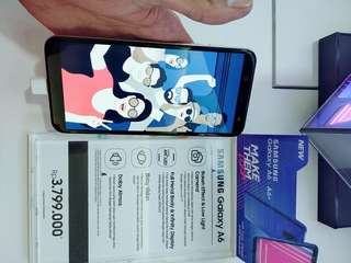 Samsung Galaxy A6 Bisa Cicilan Tanpa CC
