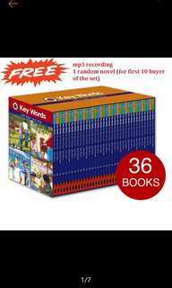 Ladybird Keywords with Peter and Jane 36 Boxset Slipcase (PO)