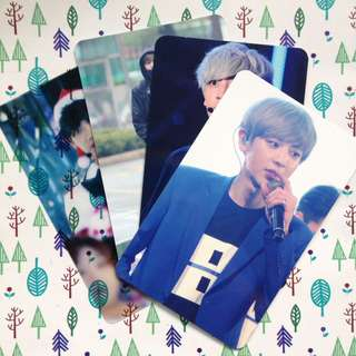 EXO Chanyeol Atbol photocard