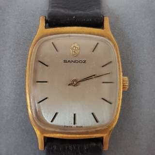 Sandoz 0121D13 Vintage Watch