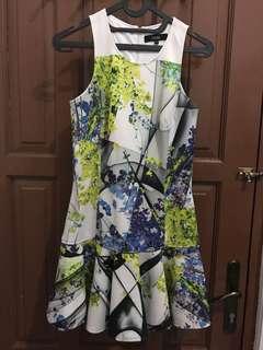 MDS Mini Dress Flower