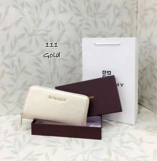 Givenchy Wallet Gold Color