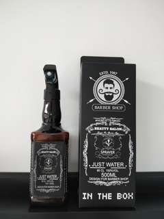 Whiskey Water Spray Bottle