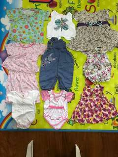 Baby Clothes Bundle 9pcs