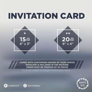 Invitation Cards & Tarpaulin for your Events