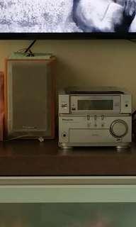 Panasonic CD Stereo System PA-SM06 Fernvale lrt