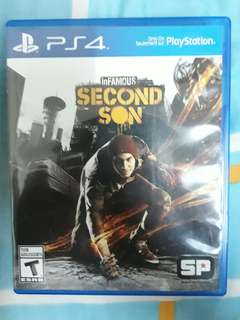 PS4 Infamous Second Son Used game