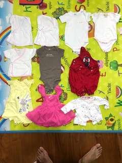 Baby Clothes Bundle 10sets