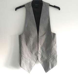 Mango grey vest