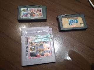 Kaset game nintendo color / sp / ds