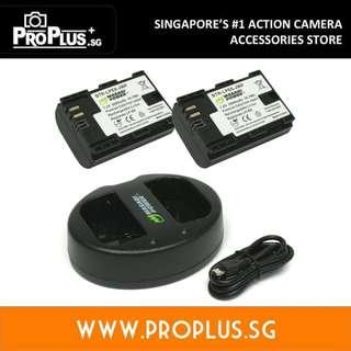 Wasabi Power Battery Set for Canon LP-E6, LP-E6N