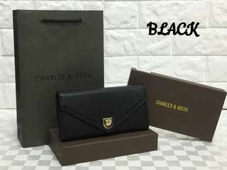 Charles & Keith Wallet Black