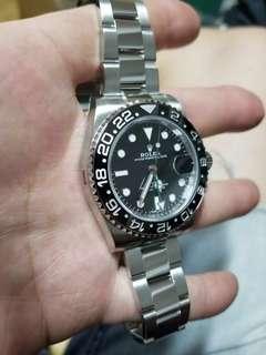 Rolex 116710LN 黑圈綠針 888