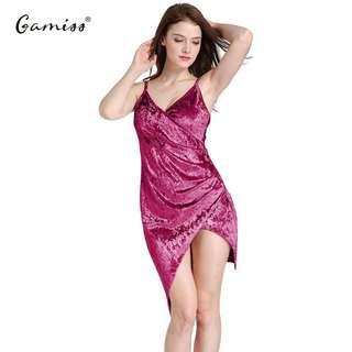 Velvet Dress ready stock