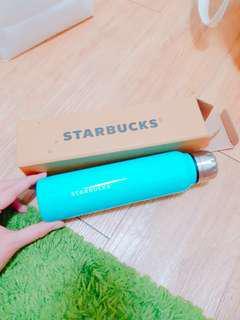 🚚 (有盒)starbucks天空藍杯