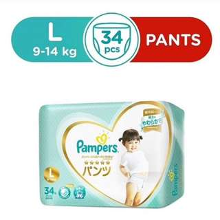 35% OFF Pampers Premium Care Pants (L34)