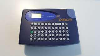 CASIO KL-60 Eelectronic Label Printer 英文標籤機