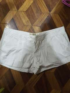 Good as new white shorts