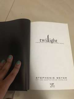 buku twilight graphic novel